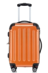 Hartschale Trolley orange aussen